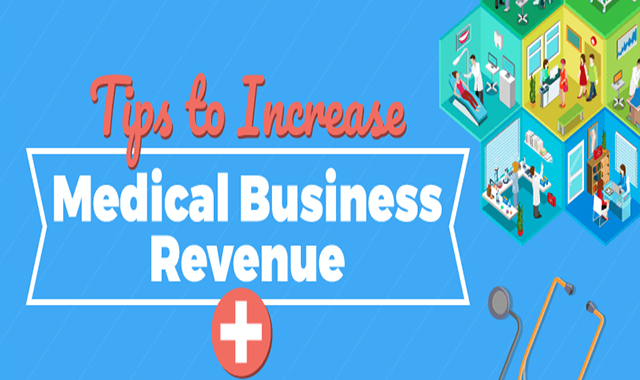 Tips to Increase Medical Business Revenue #infographic,