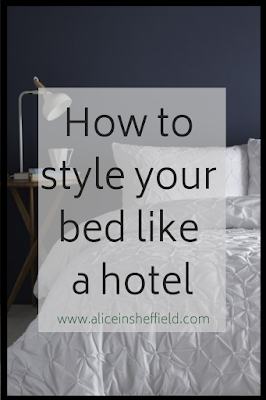 Style your bed like a hotel