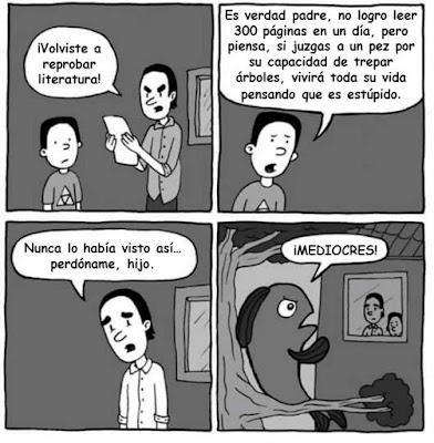 Meme de humor sobre literatura