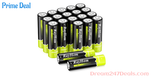60%OFF AA Rechargeable Battery