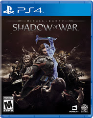 PS4 Middleearth Shadow of War – PS4