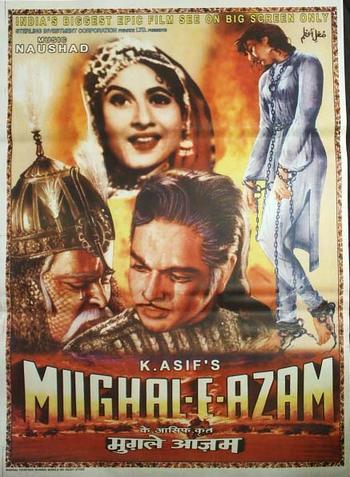 Mughal-E-Azam 1960 Hindi 480P BrRip 550MB - full HD movie
