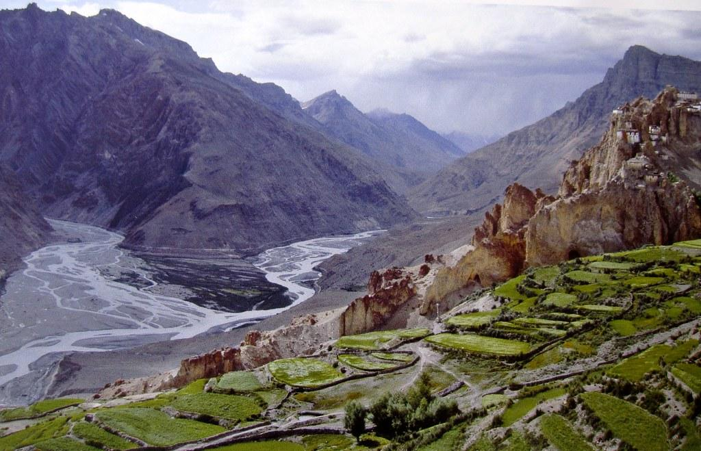 Desert Mountains of the Spiti Valley