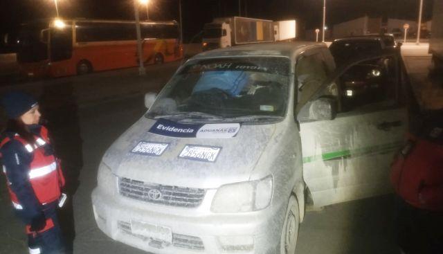 evidencia en zona fronteriza de Pisiga Choque