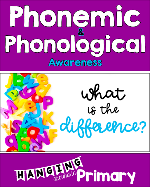 A blog post outlining the difference between phonemic and phonological awareness with a free screening tool to get started.