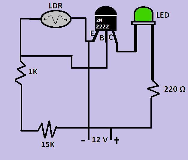 Circuito De Sensor De Vibrao