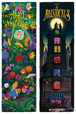 """Alice in Wonderland by Ben Harman is a 12""""x36"""" fine art hand numbered giclée print limited to 175 pieces and will retail for $60."""