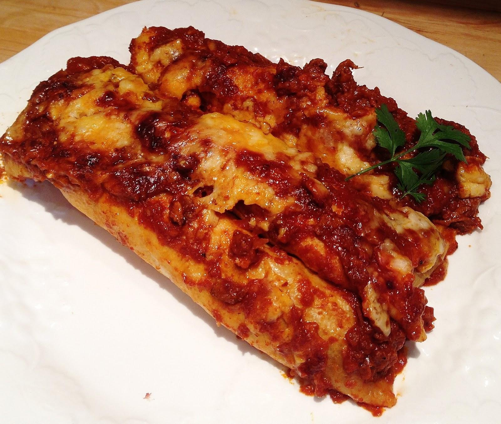 Garlic Beef Enchiladas Recipe: The Best Recipes: The BEST Beef Enchiladas
