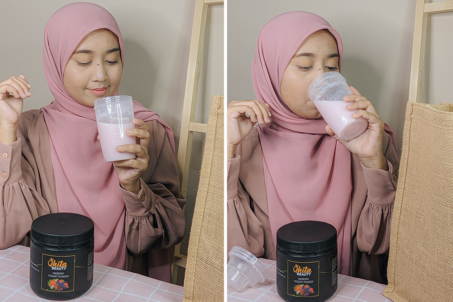 Mixberry Yogurt Powder Drink Untuk Kulit Cantik Dan Beri Tenaga Tambahan Pada Badan