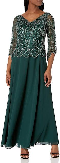 Elegant Green Mother of The Bride Dresses
