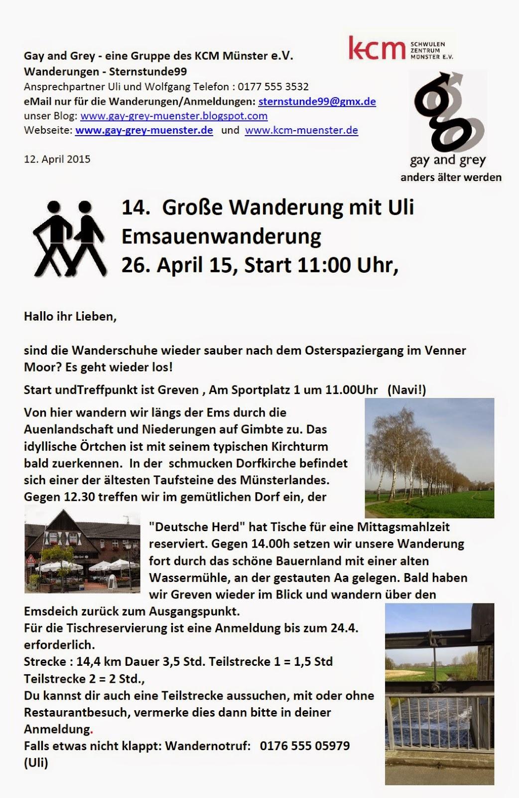 Heute gay treffen in münster [PUNIQRANDLINE-(au-dating-names.txt) 25