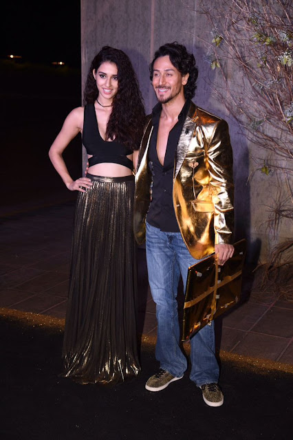 Tiger Shroff & Disha Patani At Manish Malhotra's 50th Birthday Party