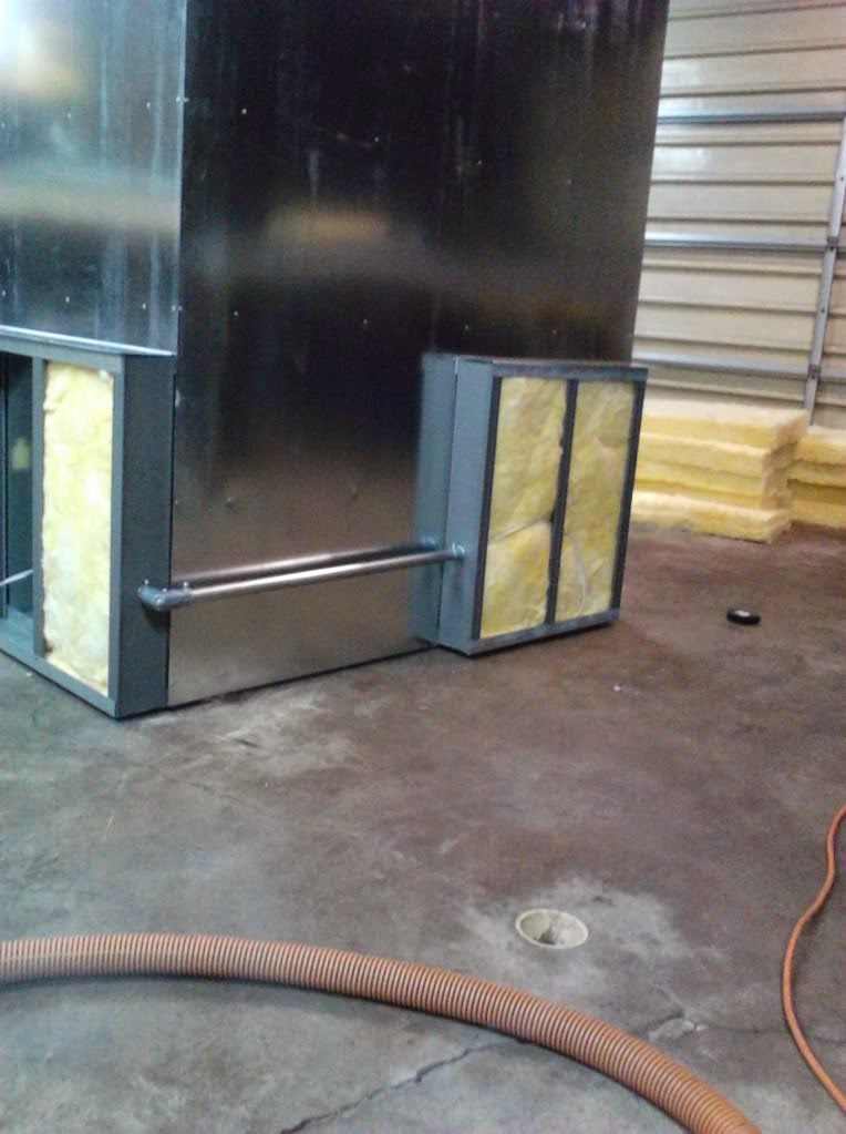 powder coating oven build wiring conduit