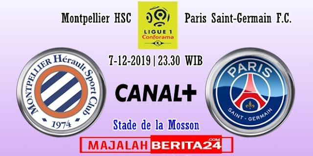 Prediksi Montpellier vs Paris Saint Germain — 7 Desember 2019