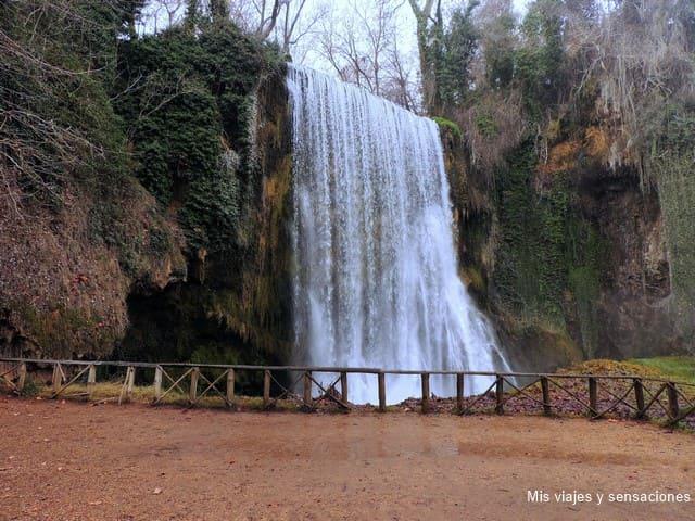 Cascada la caprichosa, Monasterio de Piedra, Nuévalos (Zaragoza)
