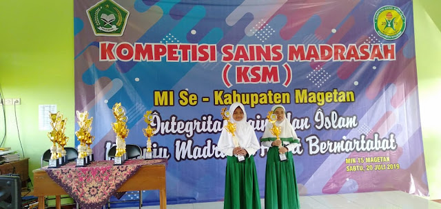 Hasil Kompetisi Sains Madrasah Telah Terbit, Berukut Nama-nama Yang Menjadi Juara