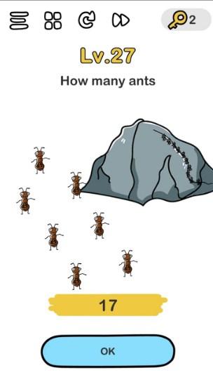 Brain Out Hitung Semut : brain, hitung, semut, Jawaban, Brain, Hitung, Semut