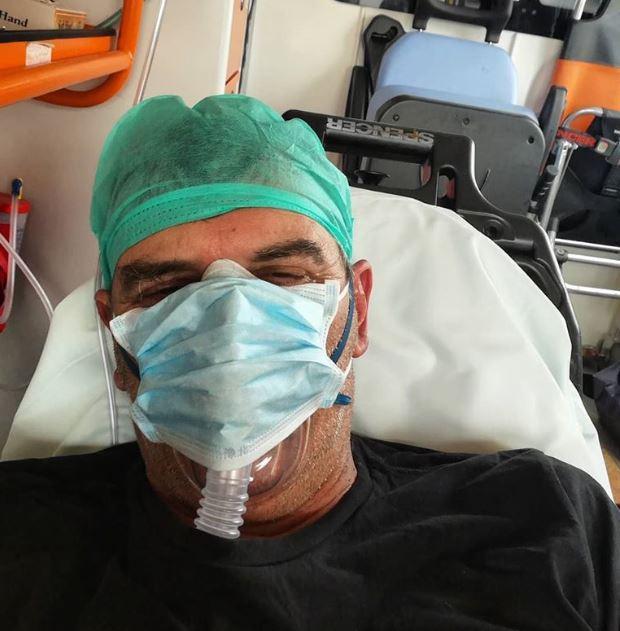 Σωτήρης Γεωργούντζος! Στην Πάτρα για νοσηλεία:Είμαι δυνατός, δεν φοβάμαι τον κορονοϊό, με την αγάπη σας και την συμπαράστασή σας θα τα καταφέρω