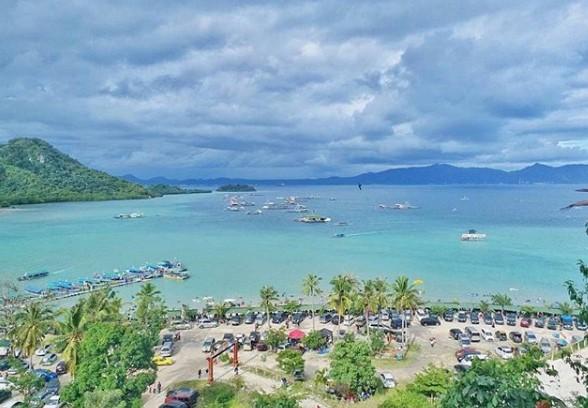 Pantai Sari Ringgung dan Pasir Timbul di Pesawaran Objek Wisata Keluarga di Lampung