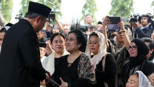 Momen Megawati-SBY Bersalaman, PDIP: Tidak Benar Ada Dendam Politik