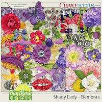 Kit : Shady Lady by Key Lime Digi Design