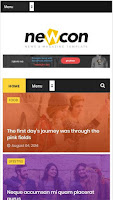 Magazine Responsive Blogger Template Full Version