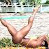 [Vídeo] Gracyanne Barbosa treinando abdômen em casa