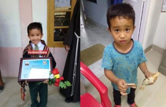 طفل هندي يبلغ من العمر 6 أعوام يتحول إلى بطل عبر الإنترنت.؟