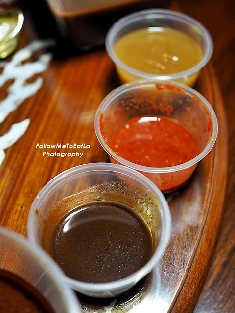 Apple Puree & Spicy Sambal Sauce