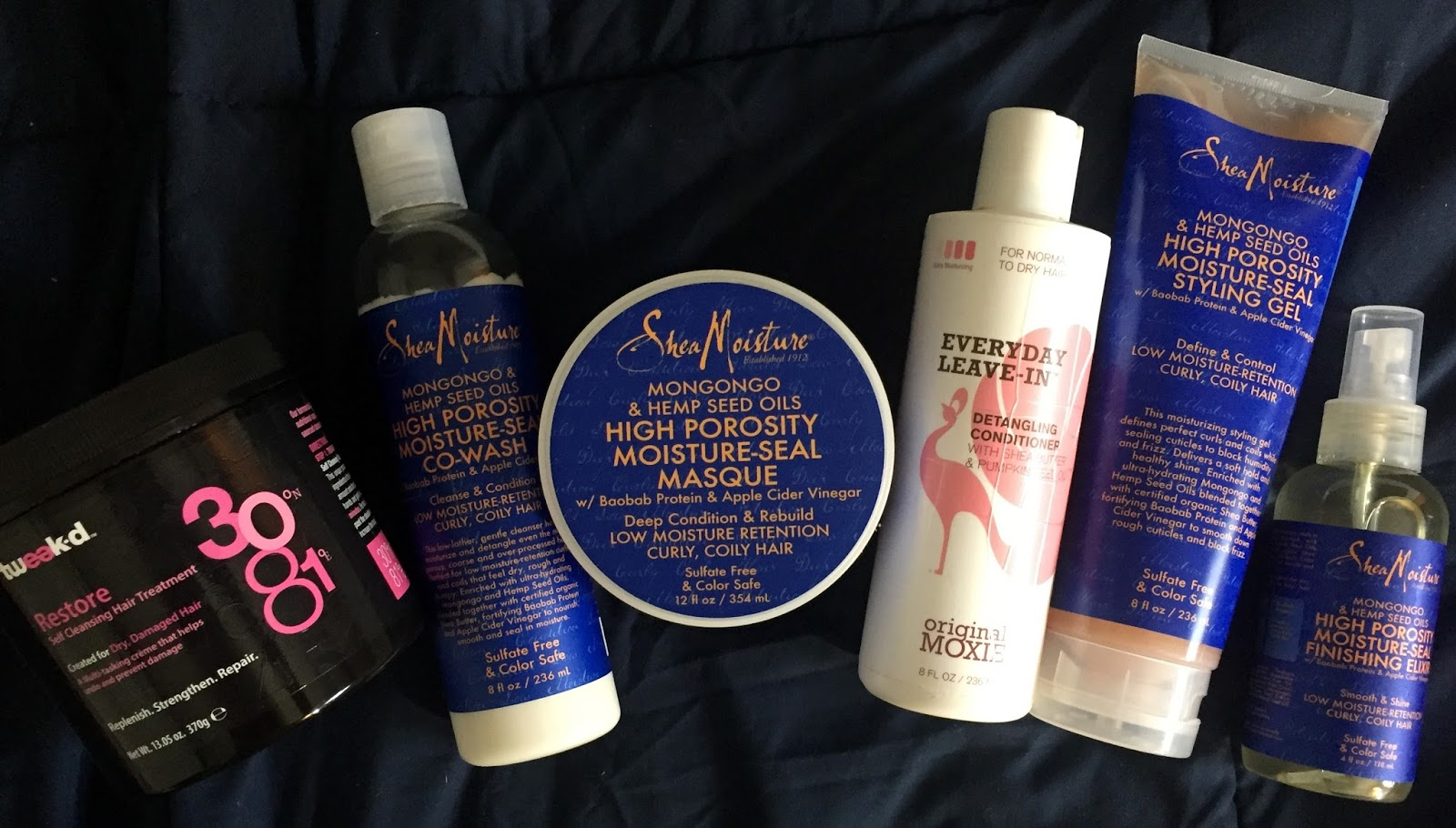 Natural Hair Finishing Products