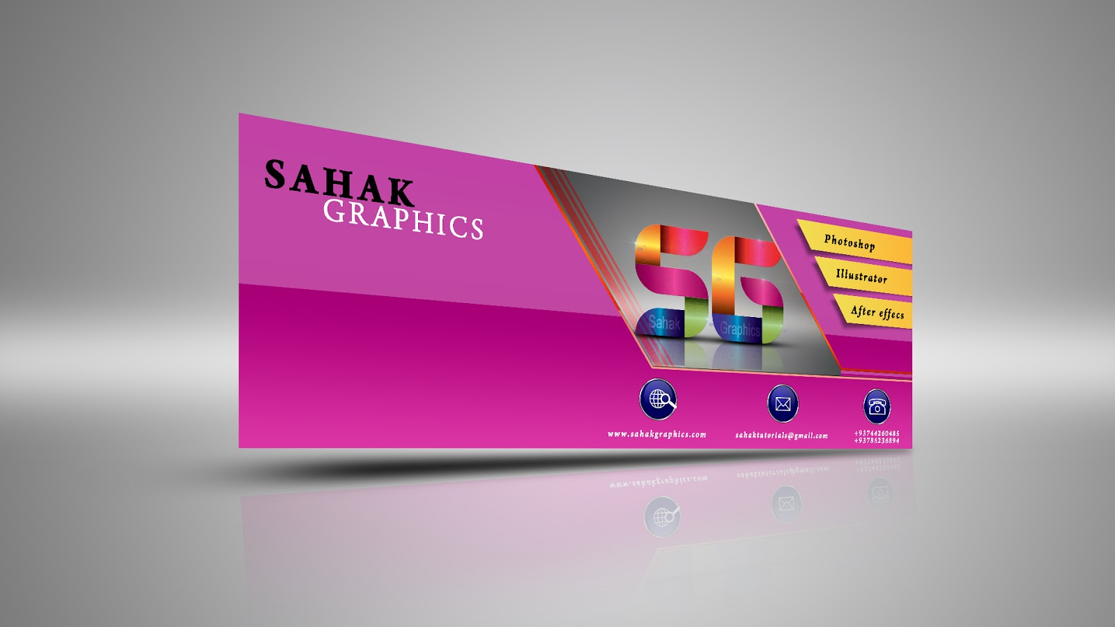 Free Download Facebook Cover Photo Psd Template Sahak Graphics