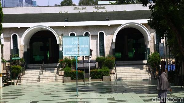 PSBB Total DKI, Masjid Sunda Kelapa Tiadakan Kegiatan Ibadah