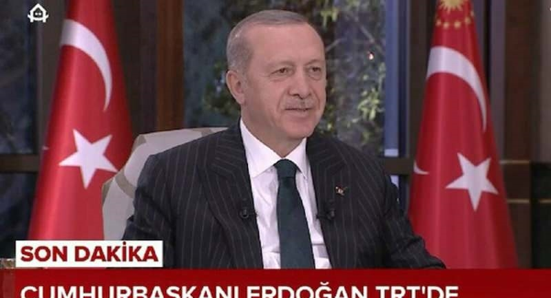 Recep Tayyip Erdoğan TRT