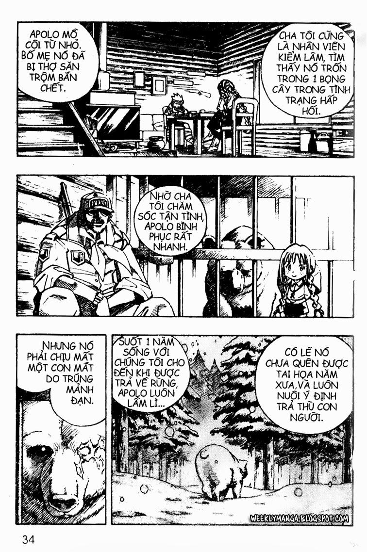 Shaman King [Vua pháp thuật] chap 92 trang 9