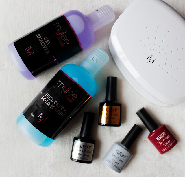 Bluesky Gel Nail Kit | Why I've Stopped Paying For Manicures | Tea And Beauty