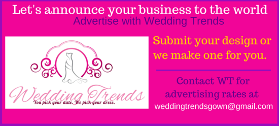 Advertise your business with Wedding Trends