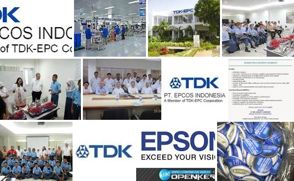 Lowongan Kerja PT. TDK Electronics Indonesia, Jobs: Civil Supervisor, Civil Engineering, Project Planning & Scheduling Engineer, Supervisor Maintenance Molding Engineer.