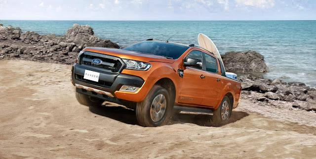 Giá xe oto Ford Ranger Wildtrak 2017 mới nhất là bao nhiêu?