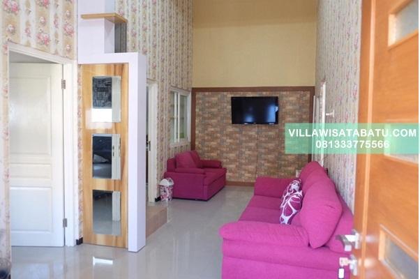 Villa 4 Kamar Dekat Alun Alun Batu | Kota Batu Jawa Timur
