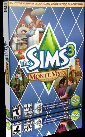 Los Sims 3 Monte Vista PC Full Español Expansión