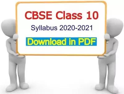 cbse-class-10-syllabus-2020