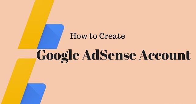 Create AdSense account