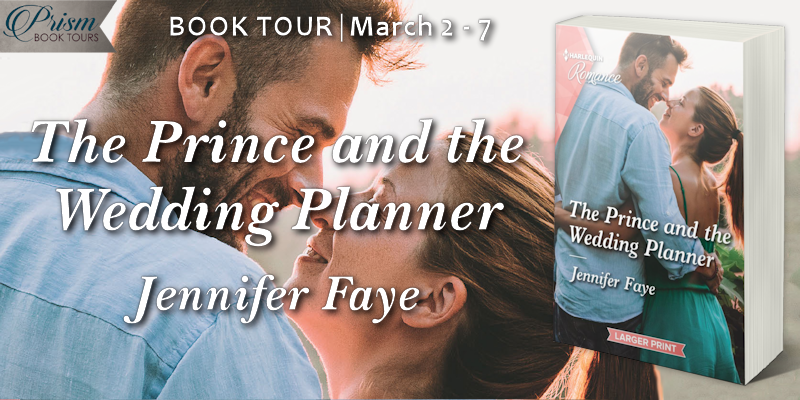 It's the Grand Finale for THE PRINCE AND THE WEDDING PLANNER by Jennifer Faye! #PrincPrism