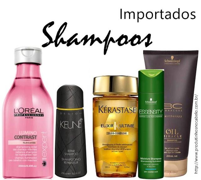 Shampoos transparentes