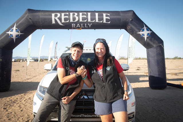Team Record the Journey and Mitsubishi Make History in 2020 Rebelle Rally