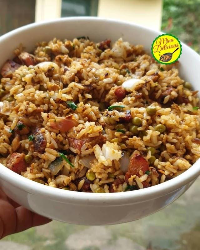 Les recettes de Mina Delicious : Le riz sauté ou riz cantonais