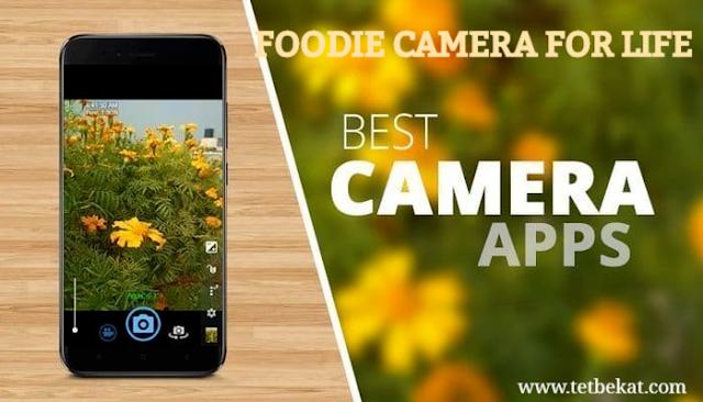 تنزيل تطبيق  Foodie - Camera for life  - كاميرا  احترافية حديثة وجميلة لهواتف الاندرويد