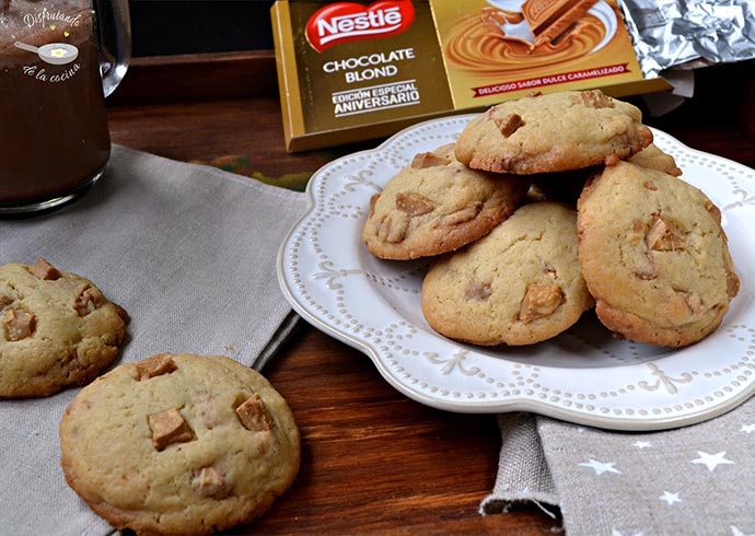 Cookies con chips de chocolate Blond