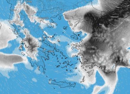 Meteo24News.gr: Ισχυροί βοριάδες και πτώση της θερμοκρασίας αύριο Παρασκευή