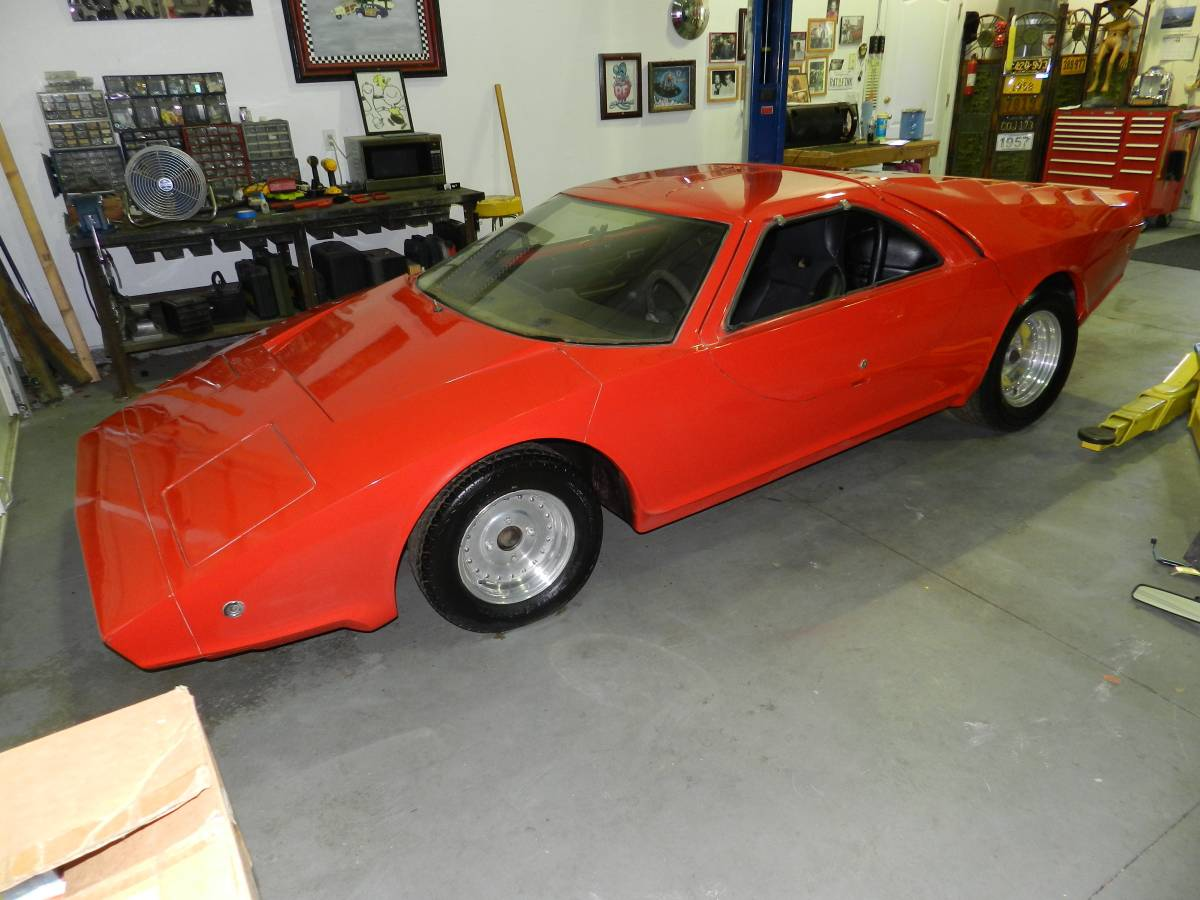 Not a Ferrari Kit: 1975 Fiberfab Aztec 7 w/ Ford V6